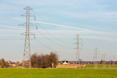 Powerlines Stock Photography