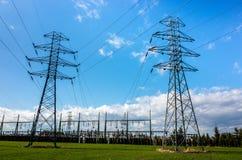Powerlines Stock Photos
