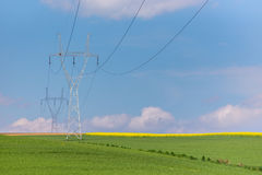 Powerlines Royalty Free Stock Photos