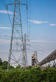 Powerlines Structure Stock Photography