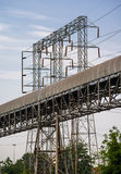 Powerlines Structure Stock Photo
