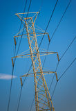 Powerlines Structure Stock Image