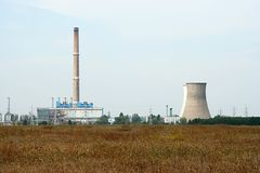 Powerplant Royalty Free Stock Images