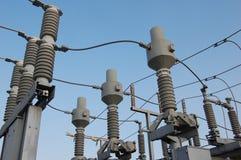 Powerplant swtichyard Stock Photos