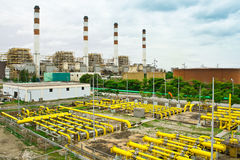 Powerplant. The powerplant by water power at bangprakong Thailand stock images