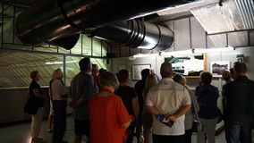 Powerplanten på dammsugarefördämningen i Nevada Royaltyfri Fotografi