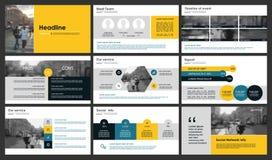 Powerpoint-Darstellungsschablonenhintergrund Stockfotografie