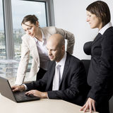 Powerpoint presentation Stock Photo