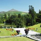 powerscourt сада Стоковое фото RF