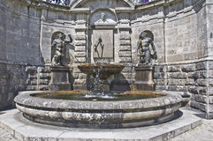 Powerscourt Fountain Royalty Free Stock Images