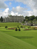 Powerscourt Gardens. View of the formal gardens at Powerscourt, Ireland Royalty Free Stock Photography