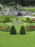 Powerscourt Gardens. View of the formal gardens at Powerscourt, Ireland Royalty Free Stock Image