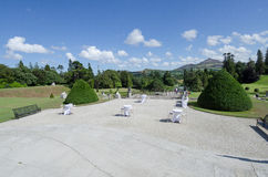 Powerscourt gardens, Ireland Stock Photos