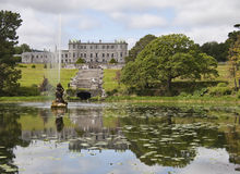 Powerscourt House and gardens Royalty Free Stock Photography