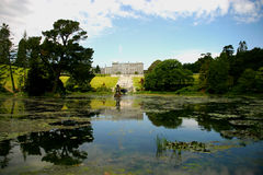 Powerscourt House & Gardens Stock Image