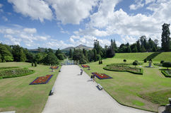 Powerscourt house and gardens, Ireland Stock Photos