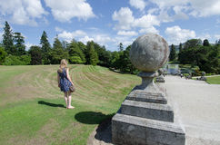 Powerscourt house and gardens, Ireland Royalty Free Stock Photos