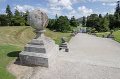 Powerscourt house and gardens, Ireland Stock Images