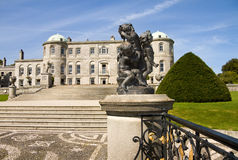 Powerscourt Mansion in Ireland Stock Image