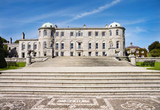 Powerscourt Mansion - Ireland royalty free stock image