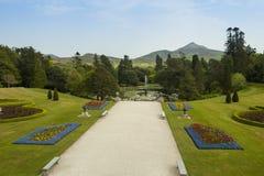Powerscourt ogródy Zdjęcia Royalty Free