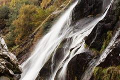 Powerscourt vattenfall, Wicklow, Irland arkivfoto