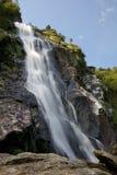 Powerscourt Wasserfall in Irland Stockbild