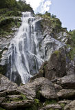 Powerscourt Waterfall Royalty Free Stock Photography
