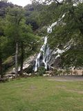 Powerscourt waterfall Royalty Free Stock Photography