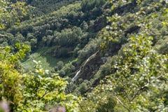 Powerscourt waterfall in Glensoulan Valley