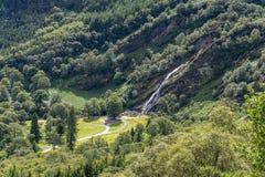 Powerscourt waterfall, Glensoulan Valley
