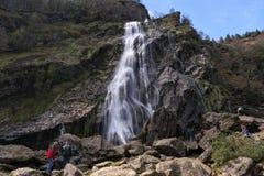Powerscourt Waterfall Royalty Free Stock Photos