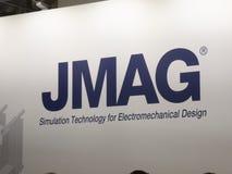 Powersys - JMAG-Firmenlogo Lizenzfreie Stockbilder