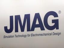 Powersys - JMAG-Firmenlogo Lizenzfreie Stockfotos