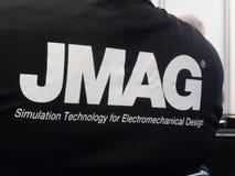 Powersys - JMAG-Firmenlogo Lizenzfreie Stockfotografie