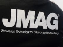 Powersys - JMAG-Firmenlogo Stockbild