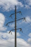 Powertransmission Transmission Tower. Power transmission tower carrying electricity from different parts of country Stock Images