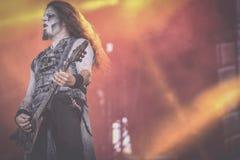 Powerwolf, concert vivant Hellfest 2017 de Greywolf images stock