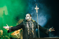Powerwolf at Masters of Rock 2015 Royalty Free Stock Photo