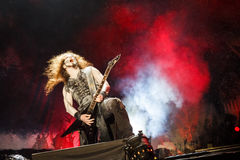 Powerwolf at Masters of Rock 2015 Royalty Free Stock Photography