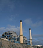 Powewr plant in manhattan beach Stock Photos