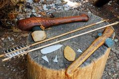 Free Powhatan Tools Near Jamestown Virginia Royalty Free Stock Photography - 211381847