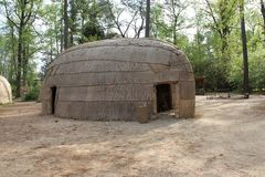 Powhatan Village. A home in a Powhatan Village Stock Images