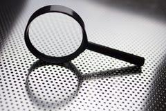 Powiększać - szkło Obraz Stock