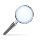 Powiększać - szkło Zdjęcie Royalty Free