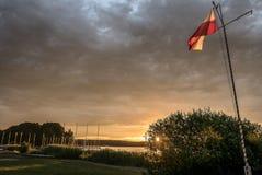 Powidz sjö Royaltyfri Foto