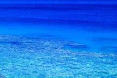 powierzchnię morza Zdjęcie Stock