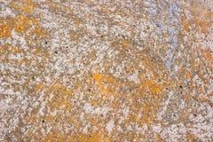 Powierzchnia betonowa ściana z śladami obieranie farba zdjęcie royalty free