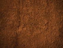 Powierzchnia ściana z brown odcieniem Zdjęcia Stock