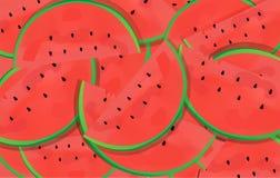 Powierzchnia czerwony ziarno ten owoc i arbuz jakby Obrazy Royalty Free